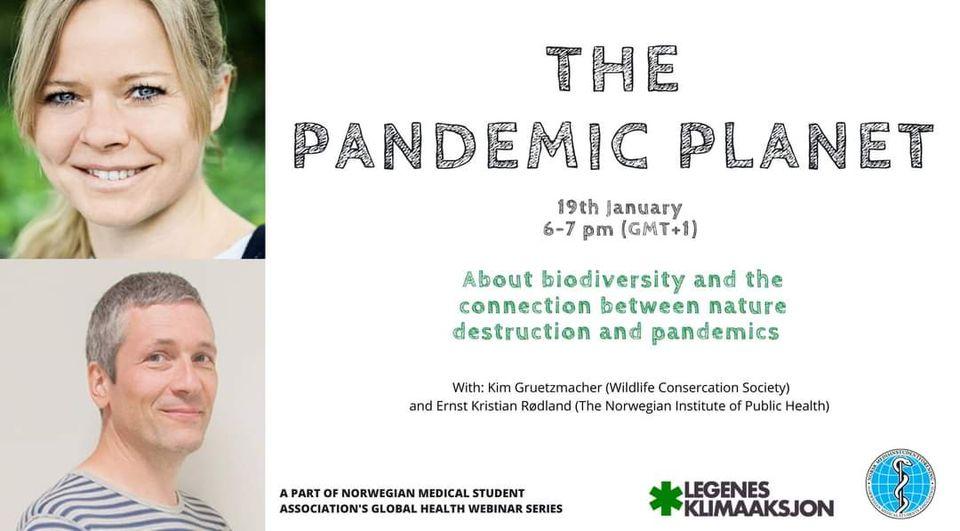 Webinar 19/1/21: The Pandemic Planet