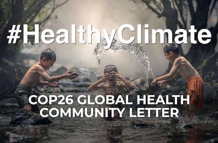 Bli med på helseoppropet foran COP26